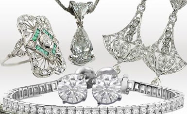 Diamond jewelry is our favorite!